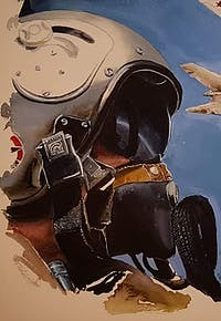 Forangeart F. Baldinotti Peintre De l'air
