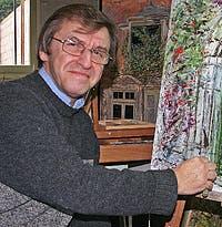 Claude Evrard, Peintres, Artistes